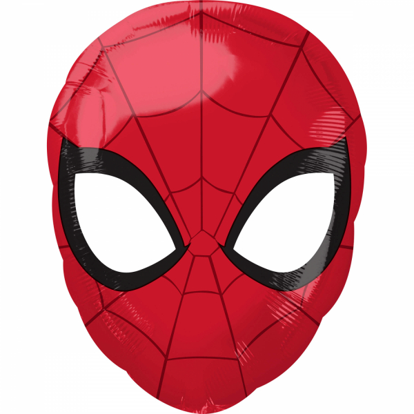 Balon folie Cap Spiderman 30 x 43cm 0