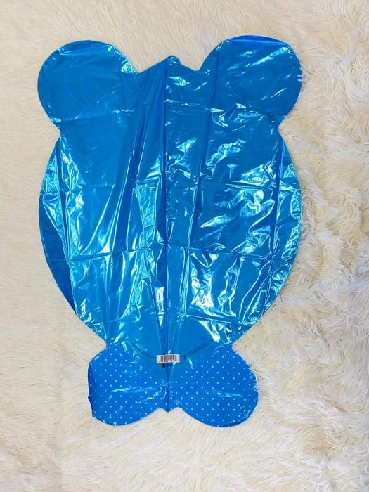Balon folie cap urs albastru 3D 69 cm [4]