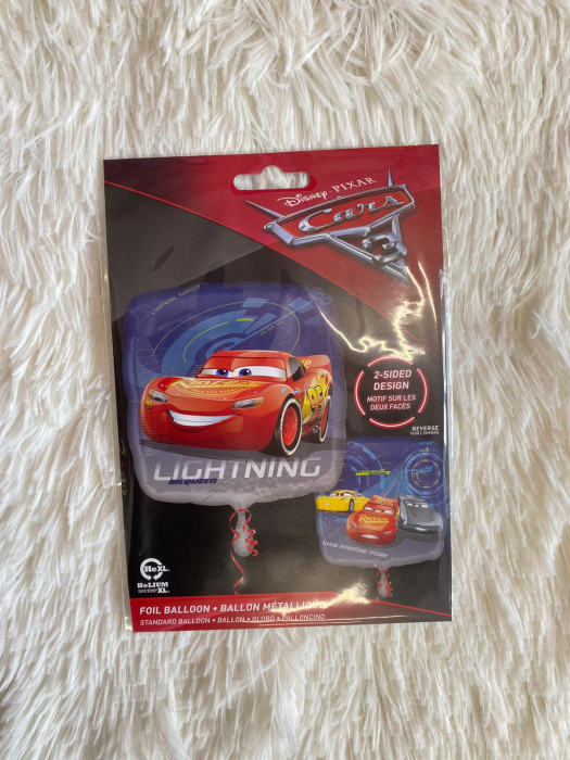 Balon folie Cars 3 Lightning McQueen 43cm 3