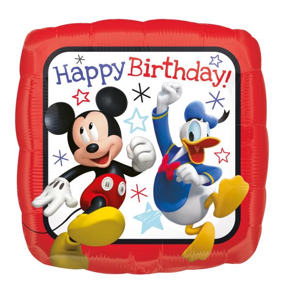 Balon folie Clubul lui Mickey Happy Birthday 45 cm 0026635362252 1