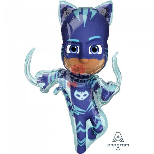 Balon folie Eroi in Pijama PJ Masks Pisoi 53 * 93 cm 0