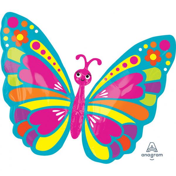 Balon folie Fluture 66 x 53 cm 0026635325622 0