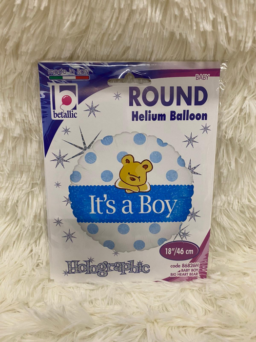 Balon folie It's a boy ursulet 46 cm [2]