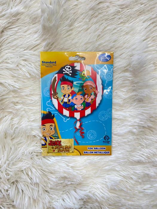 Balon folie Jake si Piratii din Tara de Nicaieri 43cm 026635263559 2
