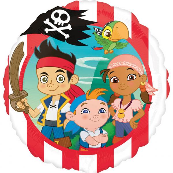 Balon folie Jake si Piratii din Tara de Nicaieri 43cm 0026635263559 0