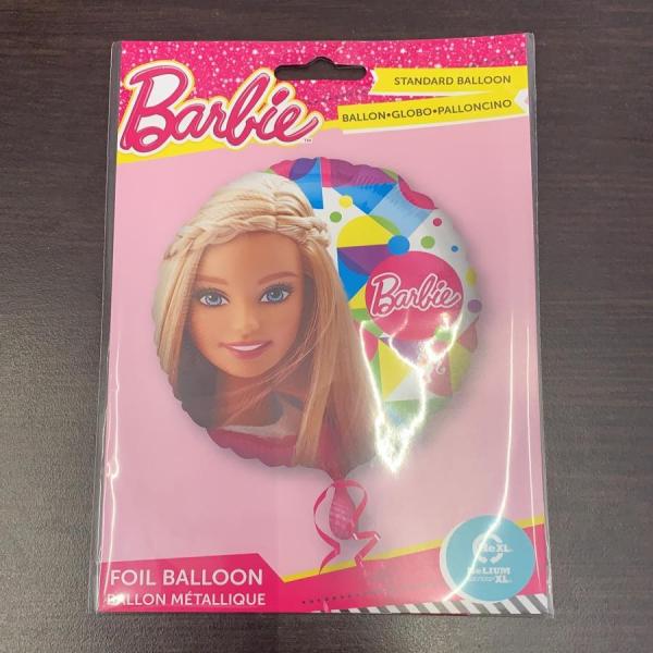 Balon folie Barbie 43cm 0026635306539 1