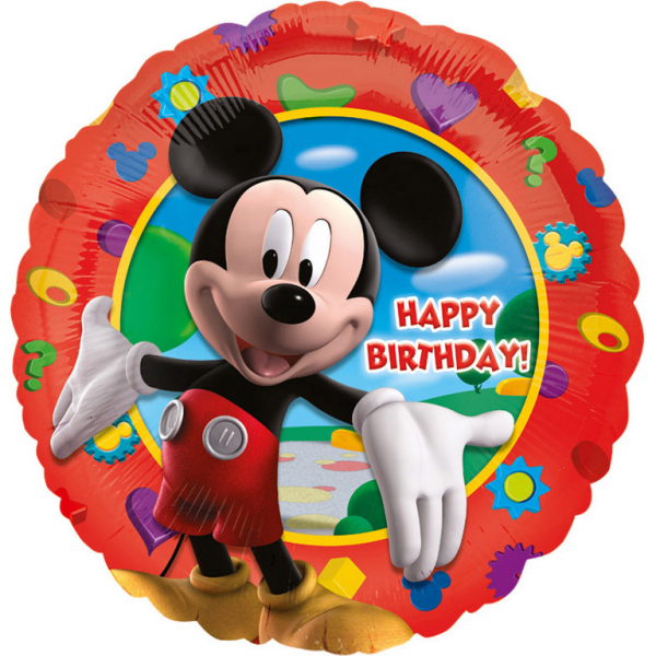 Balon folie Mickey Mouse Happy Birthday 43cm 0080518140559 0