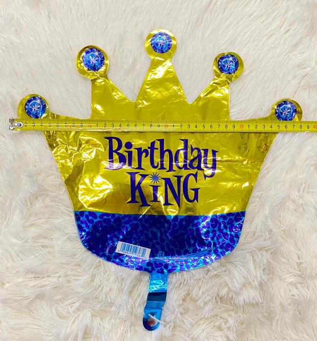 Balon folie mini figurina coroana rege / Little King 32 * 38 cm [1]