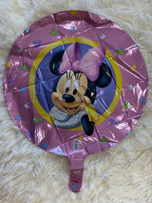 Balon folie Minnie Character Roz 43cm 1