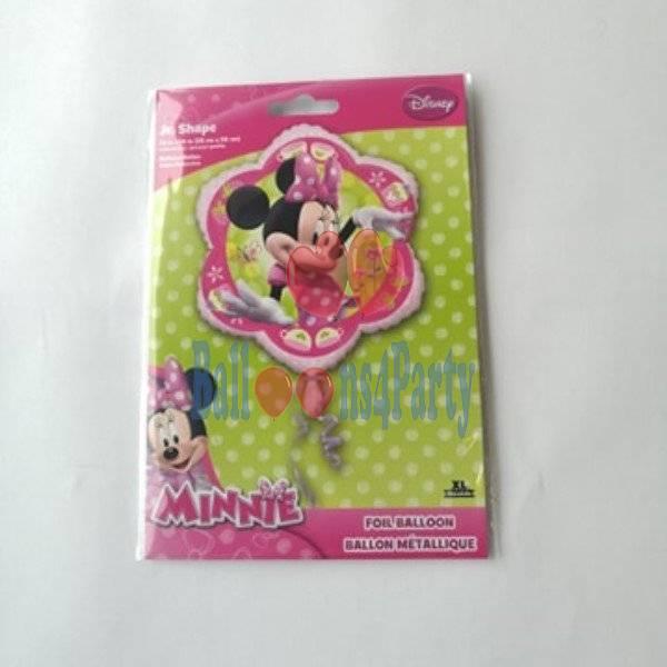 Balon folie Minnie Floare 46 x 46 cm 0026635264372 2