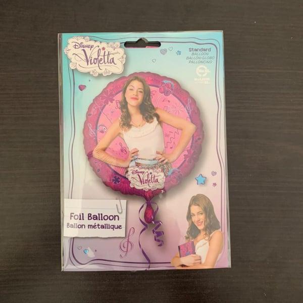 Balon folie Disney Violetta 43 cm 0026635280419 1