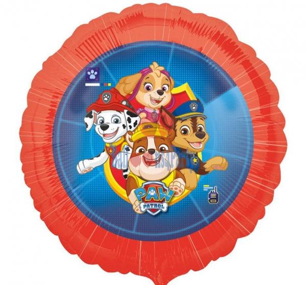 Balon folie Patrula Catelusilor / Paw patrol 43cm 0026635391085 0