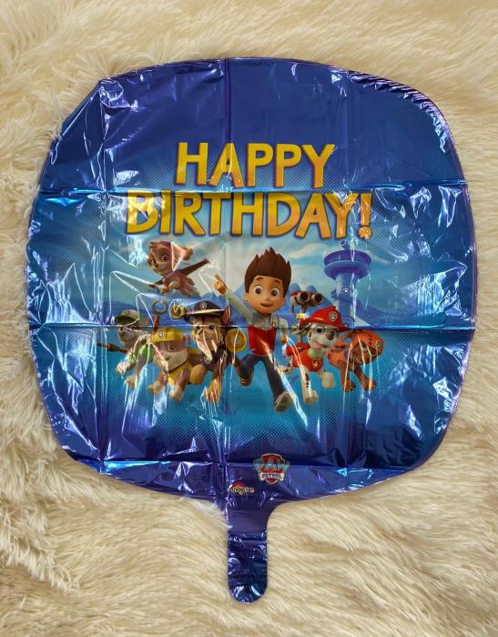 Balon folie Paw Patrol Happy Birthday 45 cm 0026635301800 1
