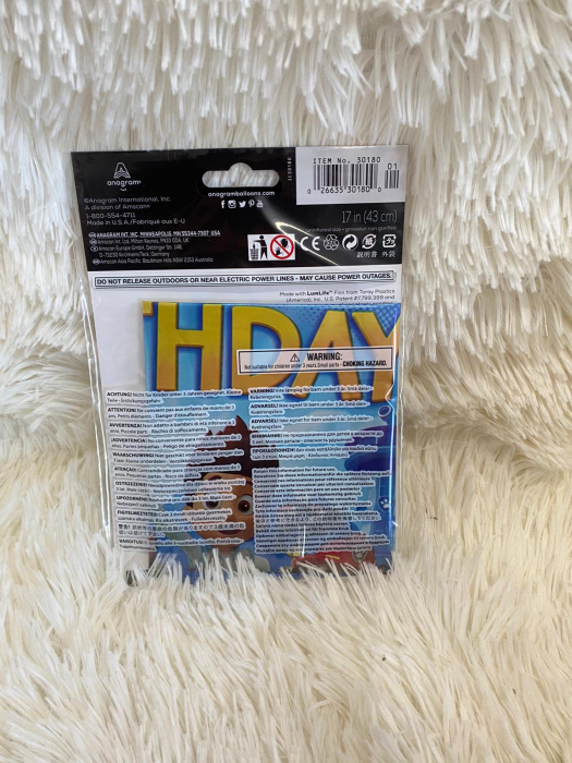 Balon folie Paw Patrol Happy Birthday 45 cm 0026635301800 3
