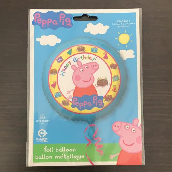 Balon folie Peppa Pig Happy Birthday 43cm 0026635315920 1