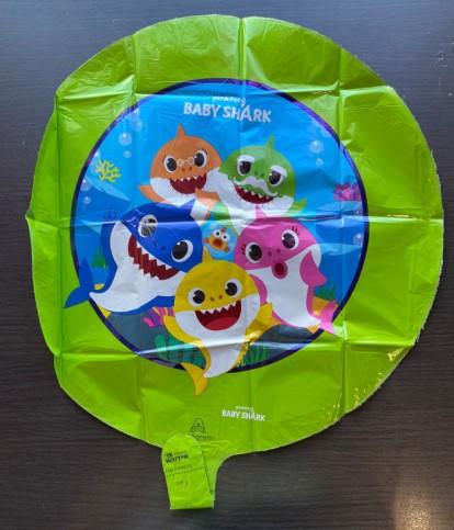 Balon folie rotund Baby Shark 43 cm [1]