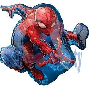 Balon folie Spiderman corp 43 x 73 cm 0026635346658 0