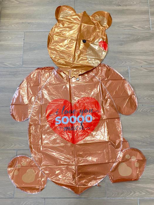 Balon folie urs I LOVE YOU SOOO MUCH 120 cm 3