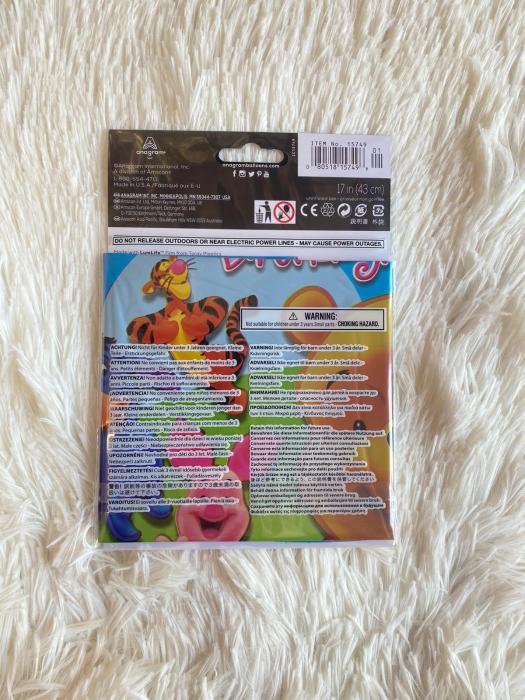 Balon folie Winnie the Pooh & Friends Happy Birthday 43cm 080518157496 [3]
