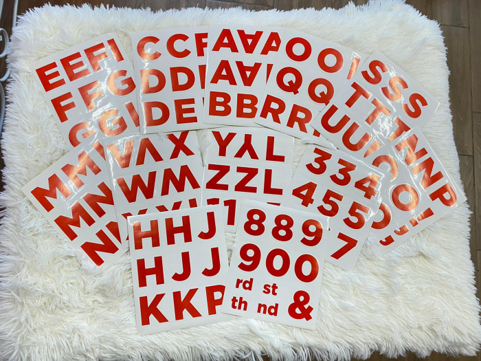 Banner plastic personalizabil Pompierul Sam 120 * 45 cm 2