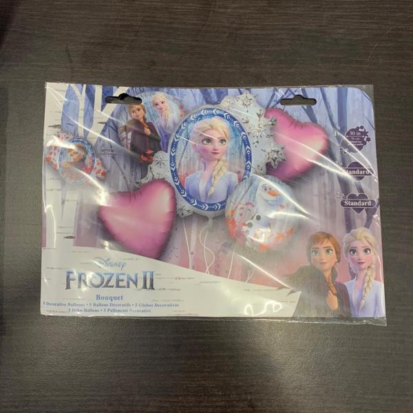 Buchet 5 baloane folie Frozen 2 0026635403894 1