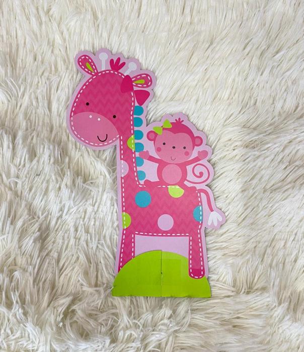 Kit decoratiuni carton masa 1 an fetita 23 bucati 6