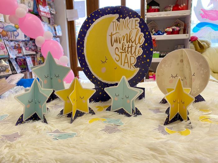 Kit decoratiuni carton masa Twinkle Little star 27 buc [1]