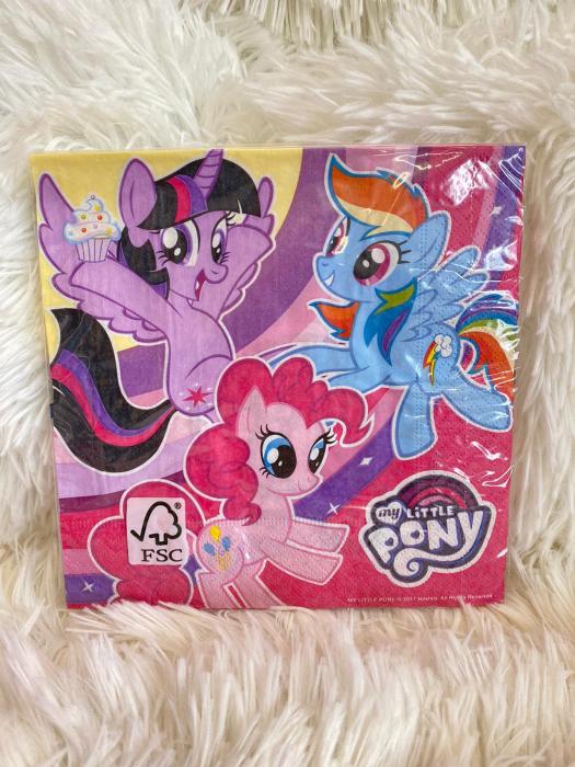 Set 20 servetele hartie My Little Pony 33 * 33 cm 1