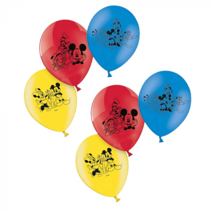 Set 6 baloane Mickey Mouse 23 cm 3