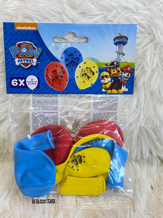 Set 6 baloane Paw Patrol 23 cm [2]