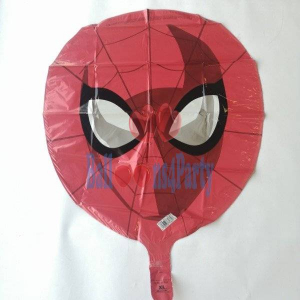 Balon folie Cap Spiderman 30 x 43cm2