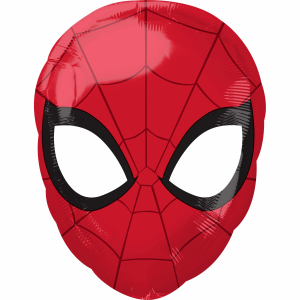 Balon folie Cap Spiderman 30 x 43cm0