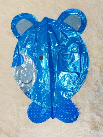 Balon folie cap urs albastru 3D 69 cm [2]