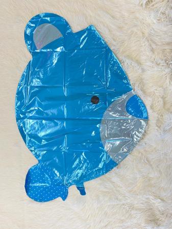Balon folie cap urs albastru 3D 69 cm [3]