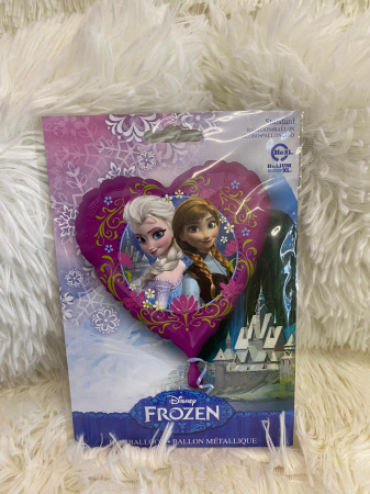Balon folie inima Frozen Ana Elsa 43 cm [2]