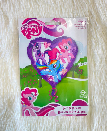 Balon folie inima My Little Pony 43 cm2