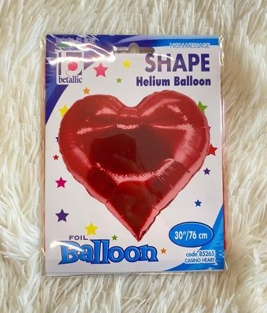 Balon folie Inima Poker 76 cm [3]
