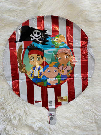 Balon folie Jake si Piratii din Tara de Nicaieri 43cm 0266352635591