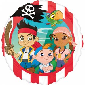 Balon folie Jake si Piratii din Tara de Nicaieri 43cm 0266352635590