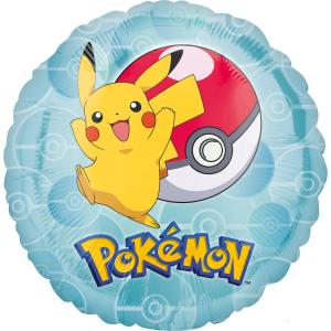 Balon folie Pokemon Pikachu 43cm 00266353633270
