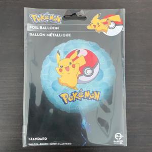 Balon folie Pokemon Pikachu 43cm 00266353633271