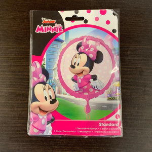 Balon folie Minnie Mouse Forever 43 cm 00266354070451