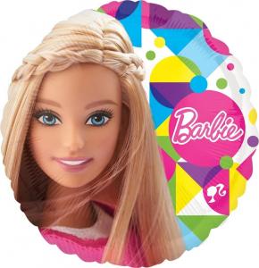 Balon folie Barbie 43cm 00266353065390