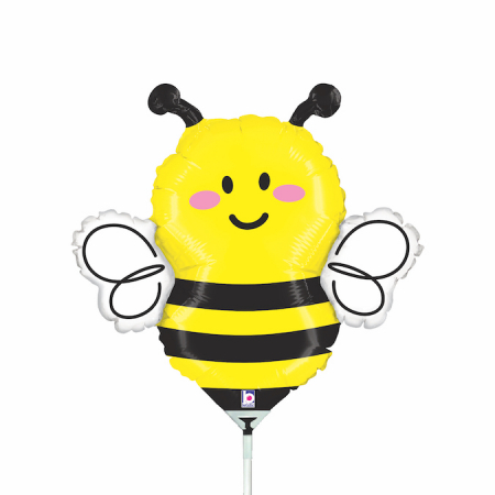 Balon folie mini figurina Albinuta / Bee 33 * 40 cm [0]
