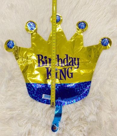 Balon folie mini figurina coroana rege / Little King 32 * 38 cm [3]