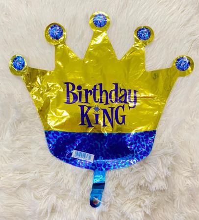 Balon folie mini figurina coroana rege / Little King 32 * 38 cm [2]