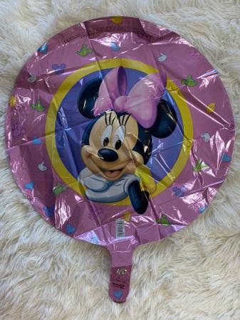 Balon folie Minnie Character Roz 43cm1