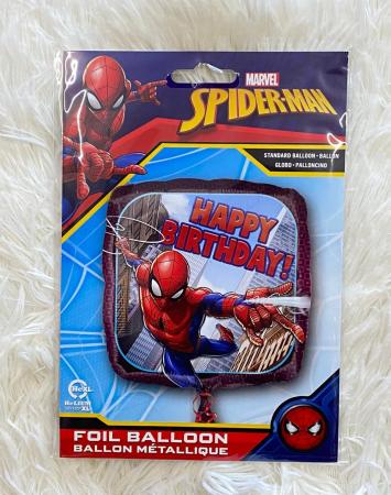 Balon folie patrat Spider-Man Happy Birthday 43 cm [2]