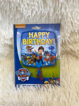 Balon folie Paw Patrol Happy Birthday 45 cm 00266353018002