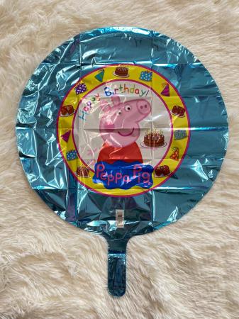 Balon folie Peppa Pig Happy Birthday 43cm 0026635315920 [1]